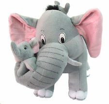Tickles Mother Elephant with 2 Babies Stuffed Soft Plush Toy Kids AT-T087 41 cm