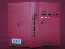 GUIDE ROUGE MICHELIN - FRANCE - 1989