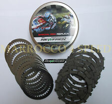 Ducati Monster 900 1000 s4 s2r s4r s4rs 900ie friction plates Discs Steel Kit