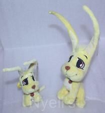 *NEW W/ TAGS* Neopets Baby Gelert Plush & Keychain Set Paintbrush Tag 70103