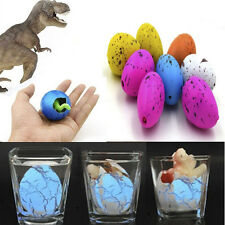 newc 6Pcs Magic Dino Egg Growing Hatching Dinosaur Add Water Child Inflatable