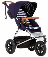 Mountain Buggy Urban Jungle Nautical Luxury Collection 3 Wheel Stroller NEW 2015