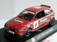 ALFA ROMEO 147 GTA CUP RALLY CAR MODEL 2003 1:43RD SCALE RACE ISSUE K8967Q~#~