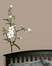 Flower - Branch -  Wall Decal - Deco Art Sticker Mural