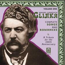 Glinka: Complete Songs and Romances, Vol. 1, New Music