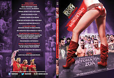 Official ROH Ring of Honor Michael Bennett's Bachelor Party 2014 Event DVD