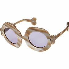 Linda-Farrow-x-Jeremy-Scott-bones stone - Sunglasses new with case