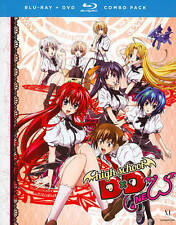 High School DxD New Complete Season 2 Anime DVD+Blu-ray R1 Funimation