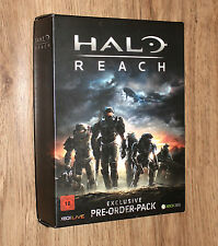 Halo Reach Very RARE Exclusive Preorder Pack includes a T-Shirt & Trailor CD