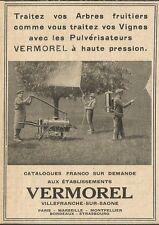 W0763 Traitez vos Arbres fruitiers VERMOREL - Pubblicità 1929 - Advertising