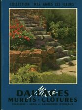 "Livre Bricolage "" Dallages Murets - Clotures  "" ( No 1639 ) Book"