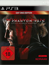 Playstation 3 Spiel: MGS 5 PS-3 Phantom Pain Day 1 Metal Gear Solid Neu & OVP