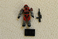 HALO MEGA BLOKS SERIES 6  HARD TO FIND RED SPARTAN  ULTRA RARE