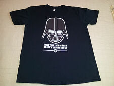 Darth Vader T Shirt sz XL Star Wars EUC George Lucas David Prose Skywalker