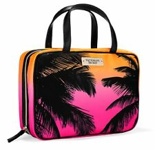 Victoria's Secret Hanging Travel Organizer Cosmetic Bag Carrier Palm Tree Hawaii