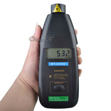 Non-Contact Laser Rotation Photo Tachometer Digital RPM Meter Speed Gauge Tester