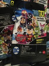 TEEN TITANS GO MINI FIGURES/SERIES LOT OF 6 BLIND BAGS D.C. Comics Super Heros