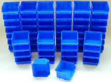 60 Stapelboxen  Gr.1  Stapelbox  blau Sichtlagerkasten  Stapelkästen Neu
