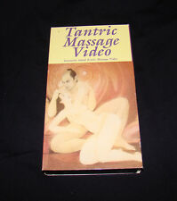TANTRIC MASSAGE VIDEO Sensual VHS VIDEOTAPE