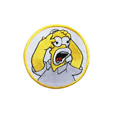 The Simpsons Patch Embroidered Cartoon Iron On Sew On Patches