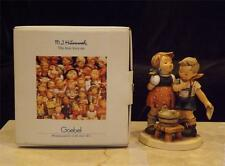 MIB Goebel Hummel Bath Time #412 TMK 6 w Box  W. Germany Children Water Bucket