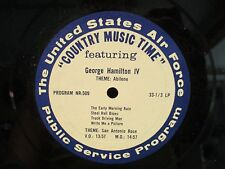 US Army Country Music Time 'Hugh X Lewis & George Hamilton IV LP