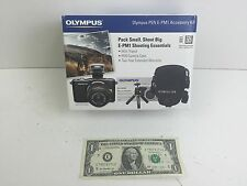 Olympus Accessory Kit for E-PM1 Digital Camera - Mini Tripod, Camera Case