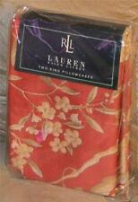 RALPH LAUREN Villa Camelia Floral KING PILLOWCASES NEW 1ST QUALITY