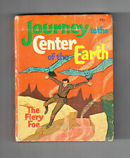 1968 JOURNEY TO THE CENTER OF THE EARTH: FIERY FOE #2026 BLB Big Little Book VG