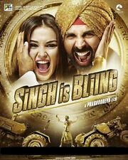 Singh Is Bliing (2015) -  Akshay Kumar, Amy Jackson - hindi movie dvd (bling)
