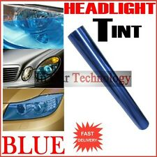 BLUE Headlights Tail Lights Tint Vinyl Film Car Van Tinted Wrap 30cm x 60cm