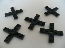 Lego 5 helices noires set 6392 6391 1607 1090 / 5 black propellers