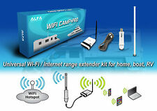 Alfa WiFi Camp Pro long range WiFi repeater kit R36/Tube-(U)N/AOA2409 TF Antenna