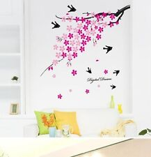 Wall Stickers Wall Decal Wall Conner Pink Flower With Digital Dreams AY936
