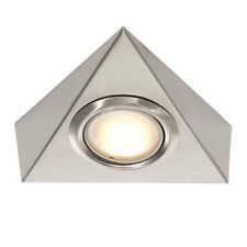 Saxby Lighting DL31SS Triangle Cabinet Light Lamp Stainless Steel 12V 20W G4 New
