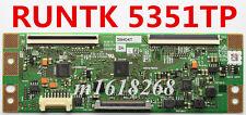 NEW SHARP T-Con Board  RUNTK 5351TP ZA  0055FV ZA Samsung UE32F5500AK For32'' TV