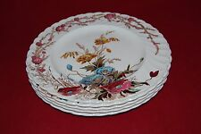 """Five CLARICE CLIFF Plates """"Harvest"""" Royal Staffordshire."""