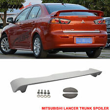 08-15 Mitsubishi Lancer ABS OE Factory Style Rear Spoiler Wing Unpainted ABS
