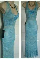 NWT BEBE POINTELLE MAXI   DRESS SIZE  M SRP$200.00 !!Perfect for summer days