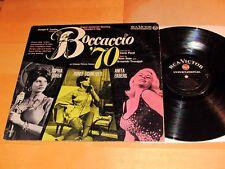 Soundtrack BOCCACCIO '70 RCA NINO ROTA Sohia Loren, Anita Ekberg, Romy Schneider