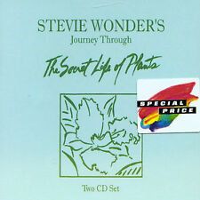 Journey Through the Secret Life of Plants by Stevie Wonder (CD, Jan-1993, 2...