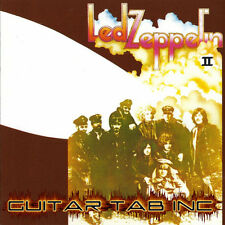 Led Zeppelin II Guitar & Bass Tab Lessons on Disc