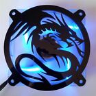 Custom 140mm FLYING DRAGON Computer Fan Grill Gloss Black Acrylic Cooling Cover