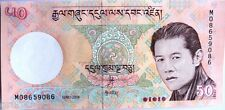 BHUTAN 50 NGULTRUM  1 UNC NOTE