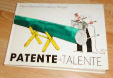 Patente + Talente  +  DDR Cartoons, Zeichnungen  rar