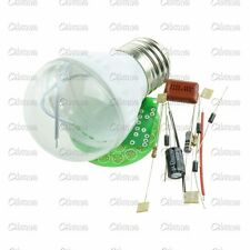 Energy-Saving 38 LEDs Green Lamps DIY Kits Electronic Suite 1 Set