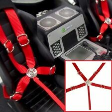 1/10 Drift Axial Wraith & Others Seatbelt Racing 5 Point Harness Set TOYZ 001Red