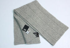 "New UGG Men's Women""s Unisex Wide rib Scarf One Size"