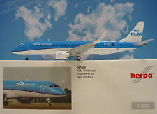 Herpa Wings 1:200 embraer e190 KLM Cityhopper pH-EXD 557580
