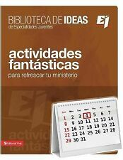 Youth Specialties - Ej Bib Ideas Actividades Fanta (2015) - Used - Trade Pa